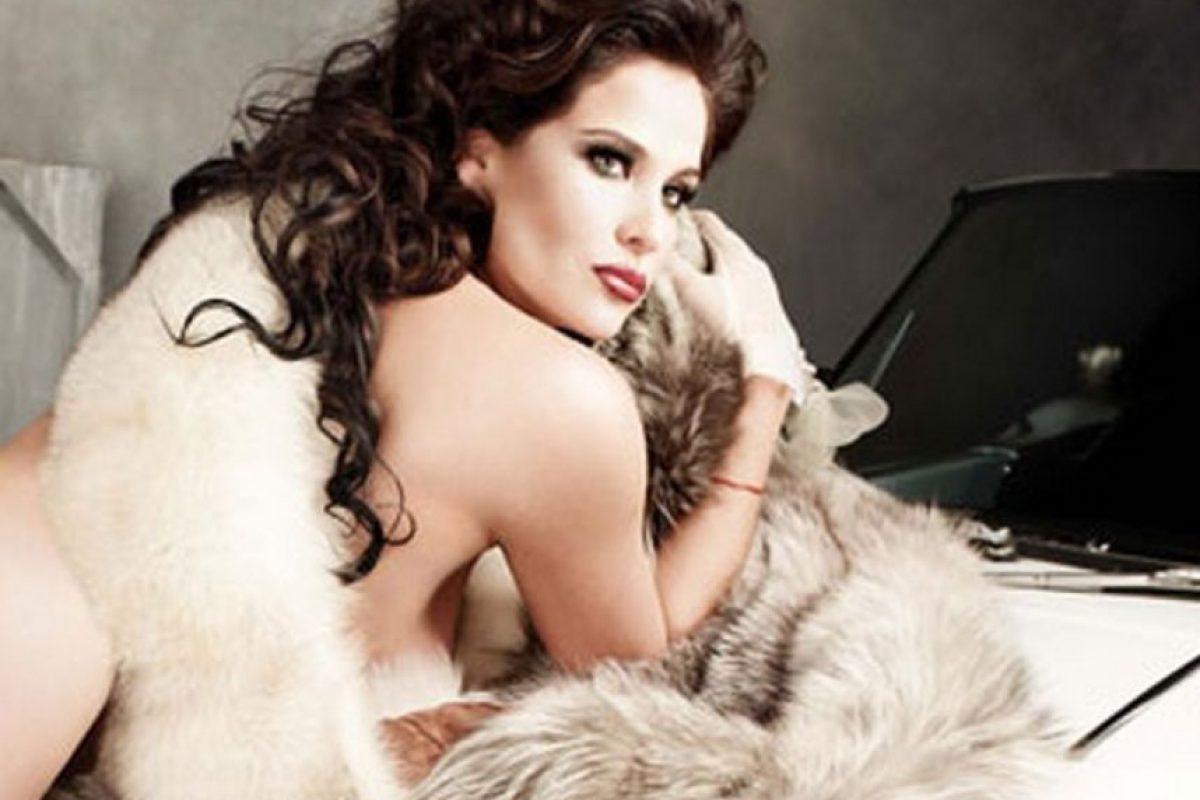 Arleth Terán fue señalada como la responsable de la separación con Maribel Guardia Foto:Playboy