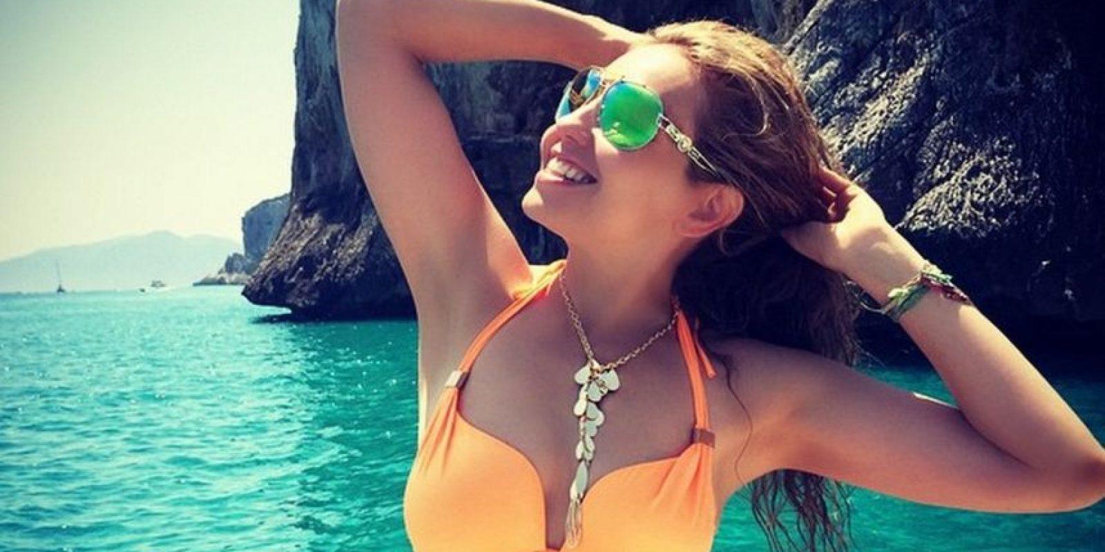 """Esto debido a que el cantante dijo que la canción """"Secreto de amor"""" se la escribió a la también actriz Foto:Vía instagram.com/thalia/"""