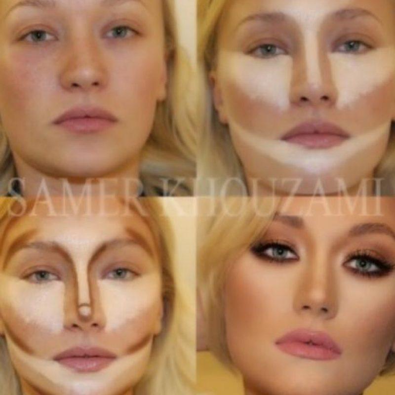 Y por supuesto, el ritual para maquillarse es largo. Foto:vía Tumblr