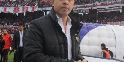 """Es el técnico de los """"Millonarios"""" Foto:Vía twitter.com/CARoficial"""
