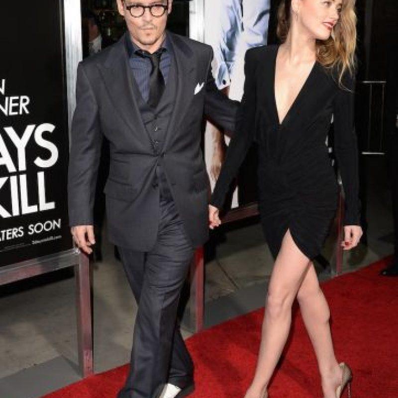 El enlace nupcial se celebró en la casa que el actor tiene en Los Ángeles. Foto:Getty Images