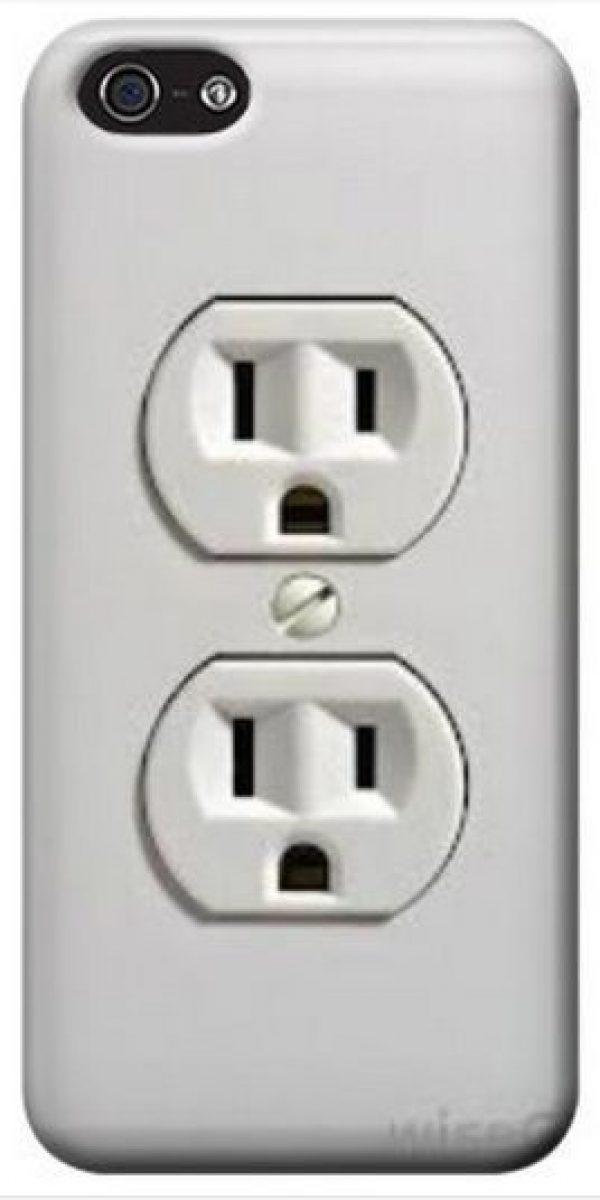 Un par de conectores a la energía eléctrica. Foto:Pinterest