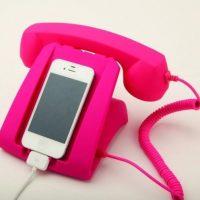 Un teléfono antiguo. Foto:Pinterest