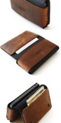 Una cartera o billetera. Foto:Pinterest