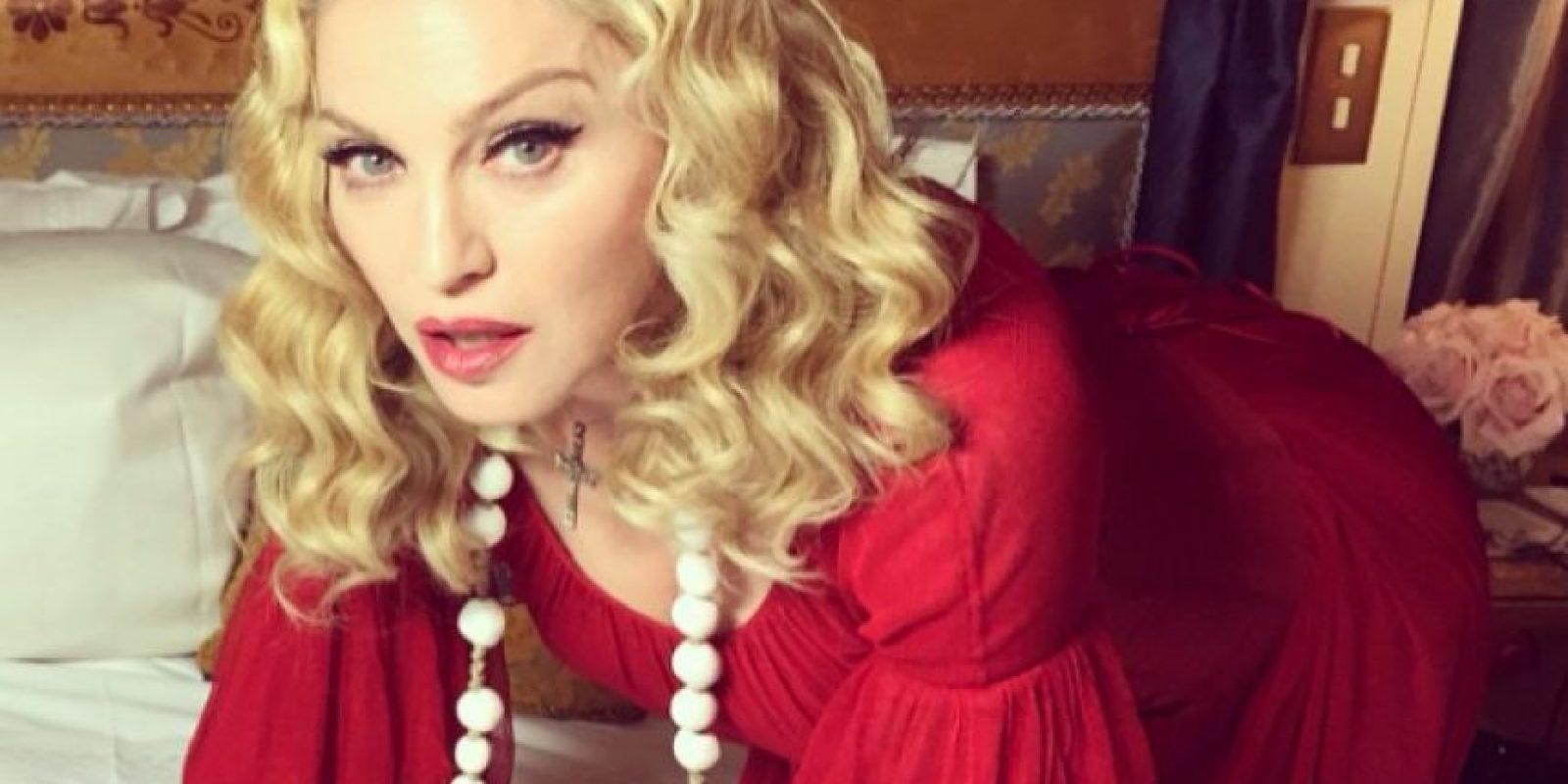 """Los usuarios de Instagram la llamaron """"racista"""". Foto:Instagram/Madonna"""