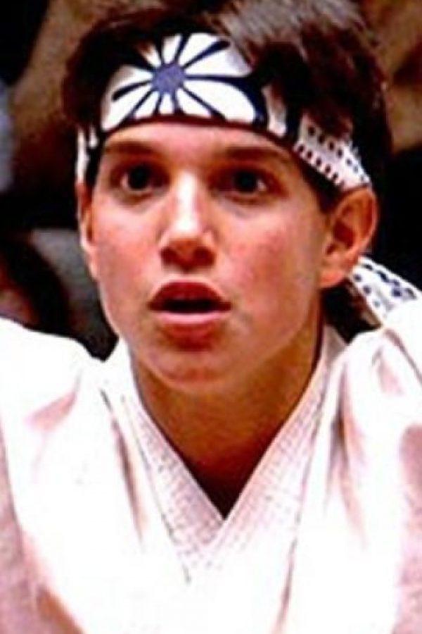 """El pequeño que se convirtió en un maestro de las artes marciales en """"Karate Kid"""", Ralph Macchio, luce así a sus 53 años de edad. Foto:Tumblr"""