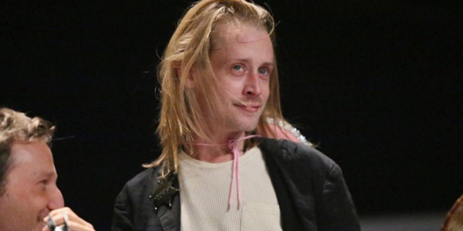 """El estadounidense que protagonizó múltiples películas en su niñez como """"Mi pobre angelito"""" y """"Ricky Ricón"""" puede resultar el caso más dramático, pues a sus 34 años luce así. Foto:Getty Images"""