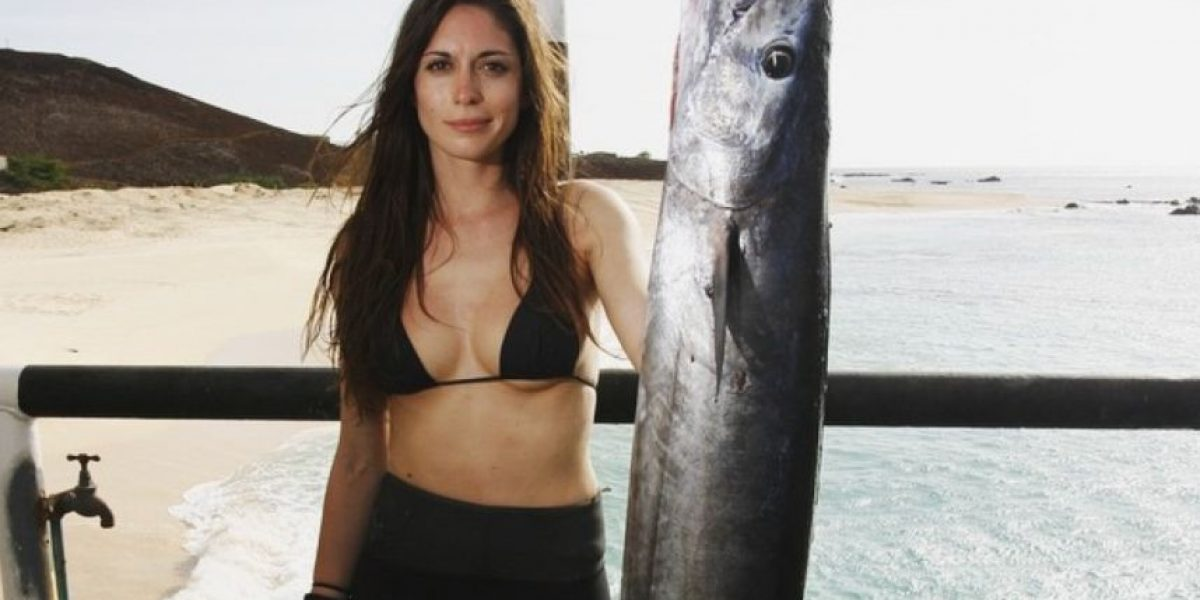 Velentine Thomas, la pescadora más guapa de las redes sociales