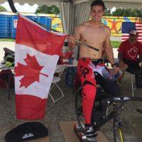 Medalla de oro en ciclismo BMX. Foto:Vía instagram.com/tnyhaug49