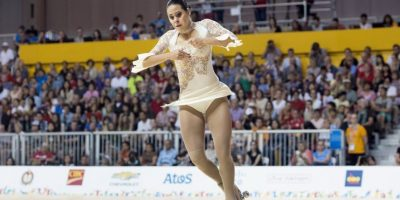 Se coronó en patinaje artístico Foto: Getty Images