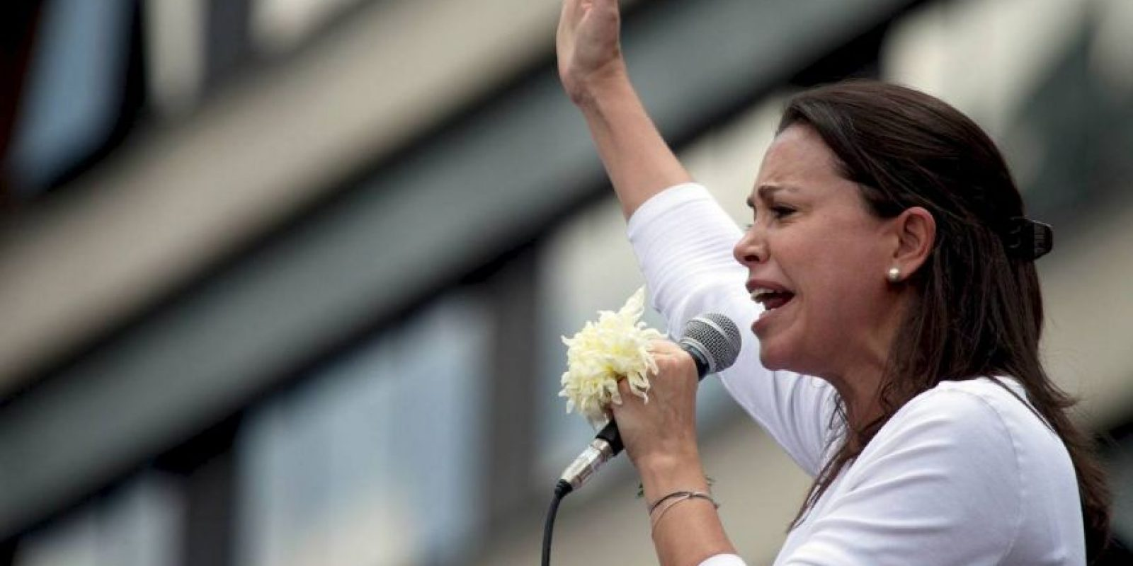 1. María Corina Machado es una de las opositoras más fuertes. Foto:AP