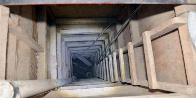 El pasadizo tenía un largo de alrededor de 400 metros y pasaba por debajo del penal. Foto:AFP