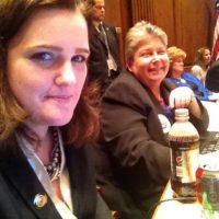Trabaja como delegada en el Congreso local de Maryland Foto:Facebook.com/kellyfordelegate