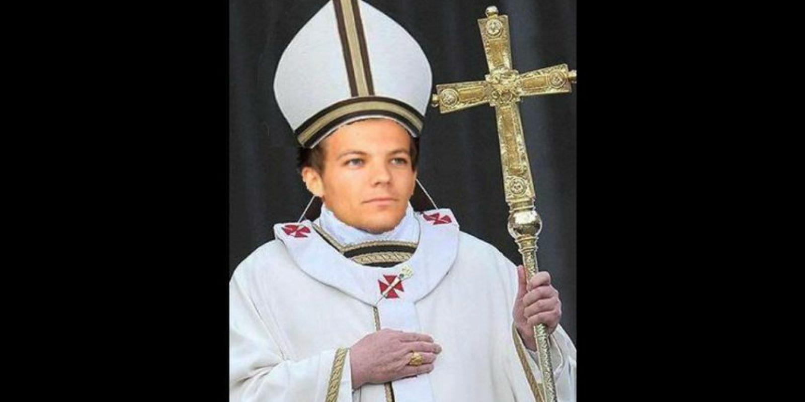 """Otras recibieron con gusto la noticia de que Louis sería """"Papa"""" Foto:vía Twitter"""