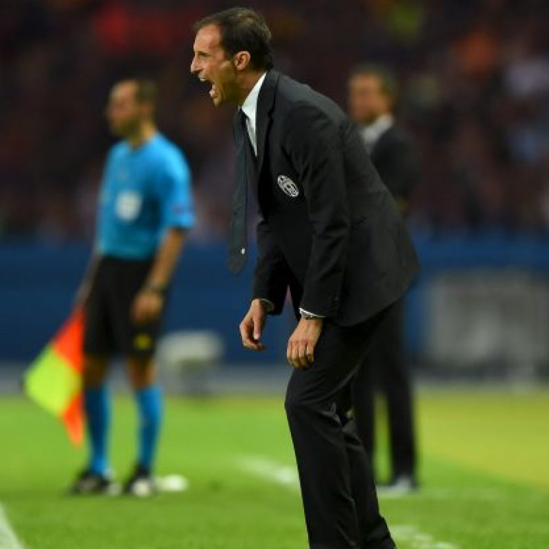 5. Massimiliano Allegri Foto: Getty Images