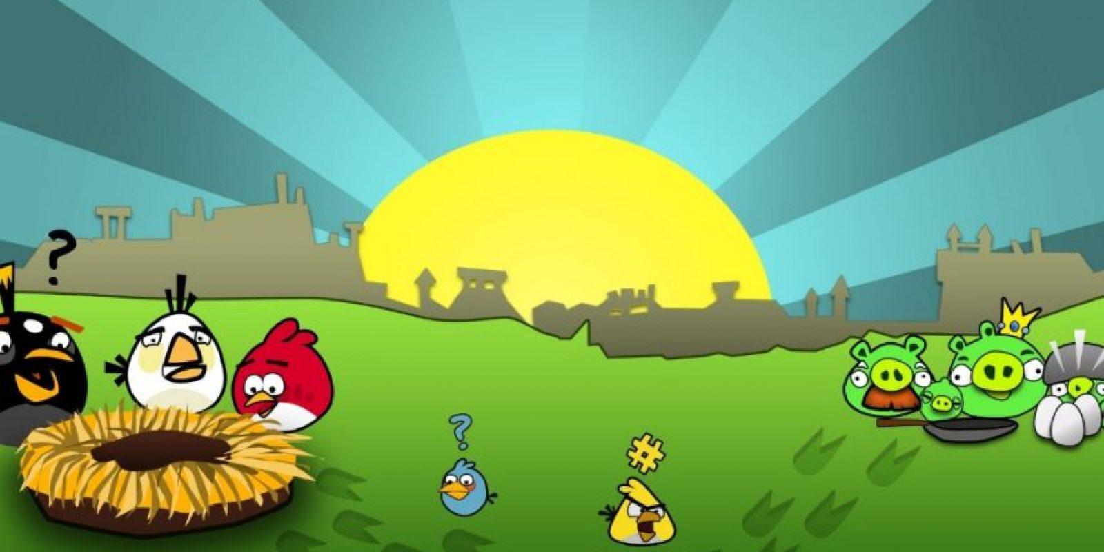 La misión consistía en eliminar a los cerdos verdes utilizando a los pájaros como una especie de balas debido a que se habían robado sus huevos. Fue el juego más descargado para Android. Foto:Rovio