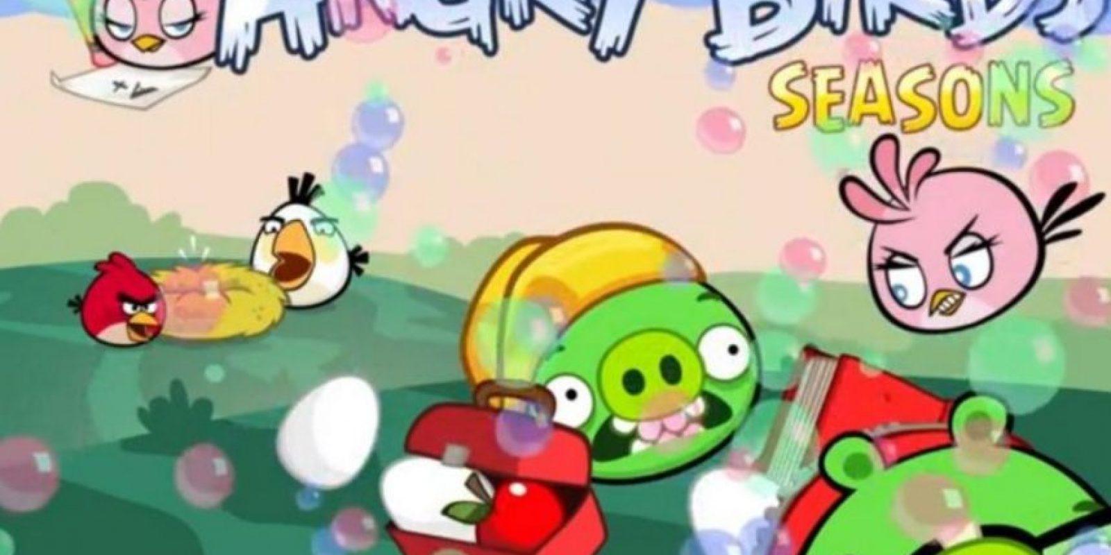 Angry Birds Seasons (2010). Foto:Rovio