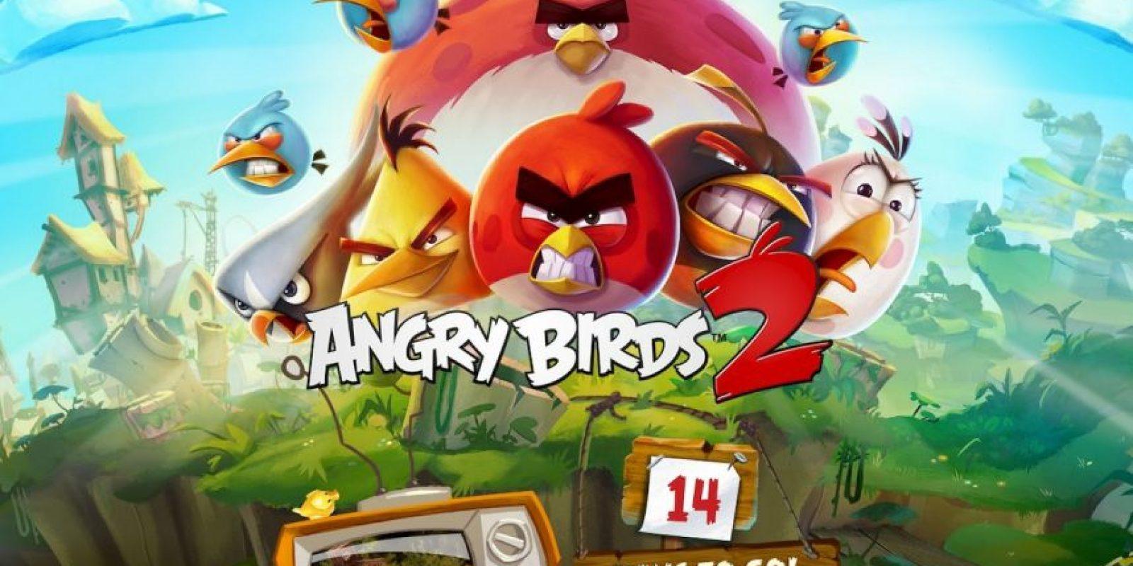"""""""Angry Birds 2"""" será la secuela del juego original. Foto:Rovio"""