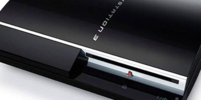 PlayStation 3 color negro. Foto: Sony