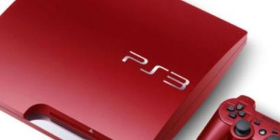 PlayStation 3 Slim color rojo metalizado. Foto: Sony