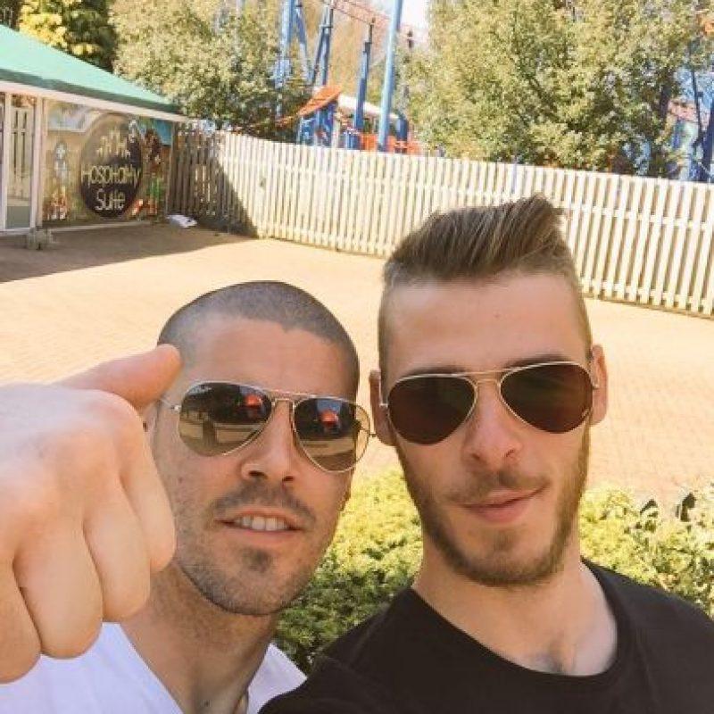 Durante la campaña pasada, Valdés fue suplente de David de Gea. Foto:Vía twitter.com/1victorvaldes
