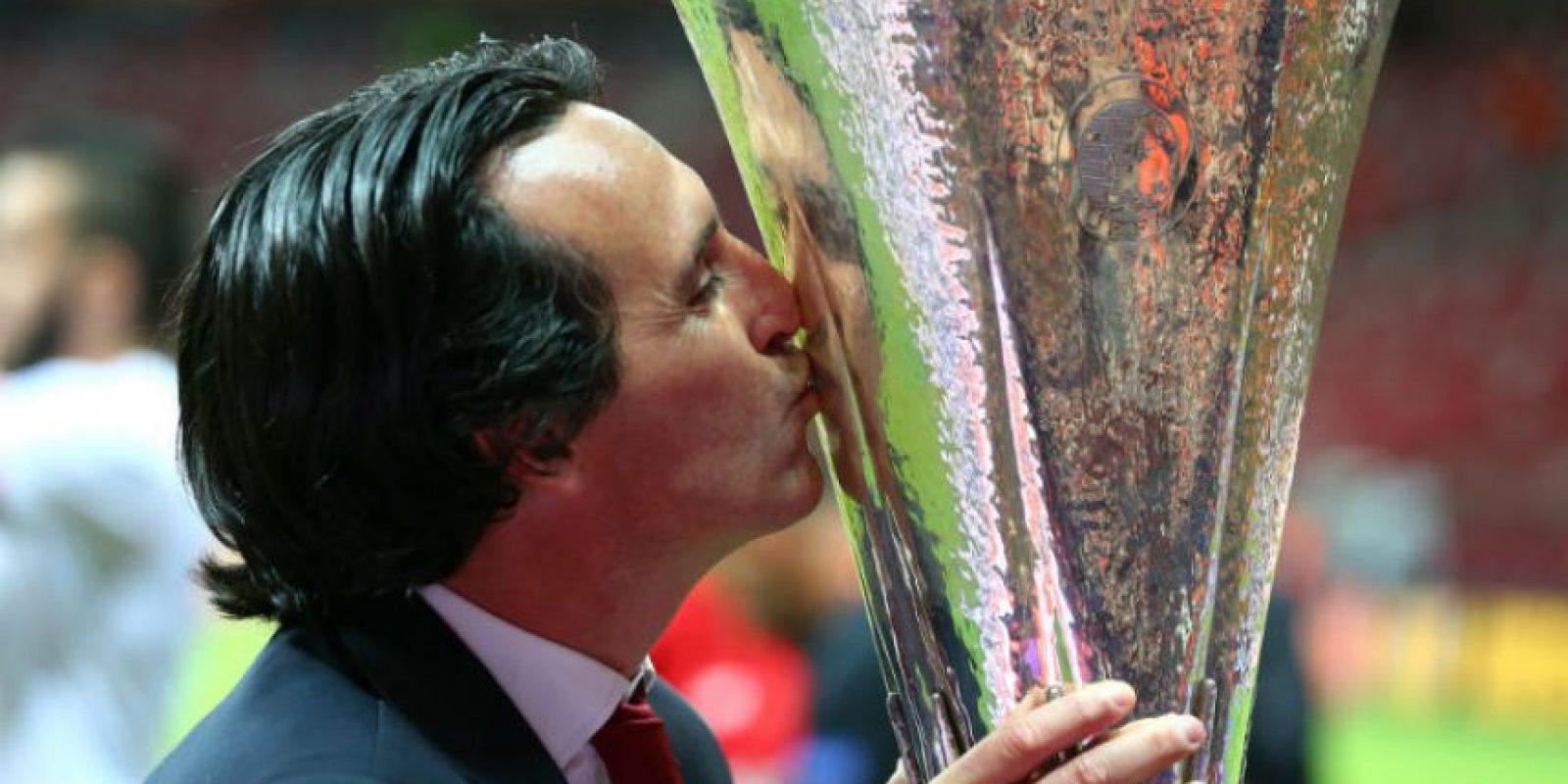 El DT español conquistó la Europa League con el Sevilla Foto:Getty Images