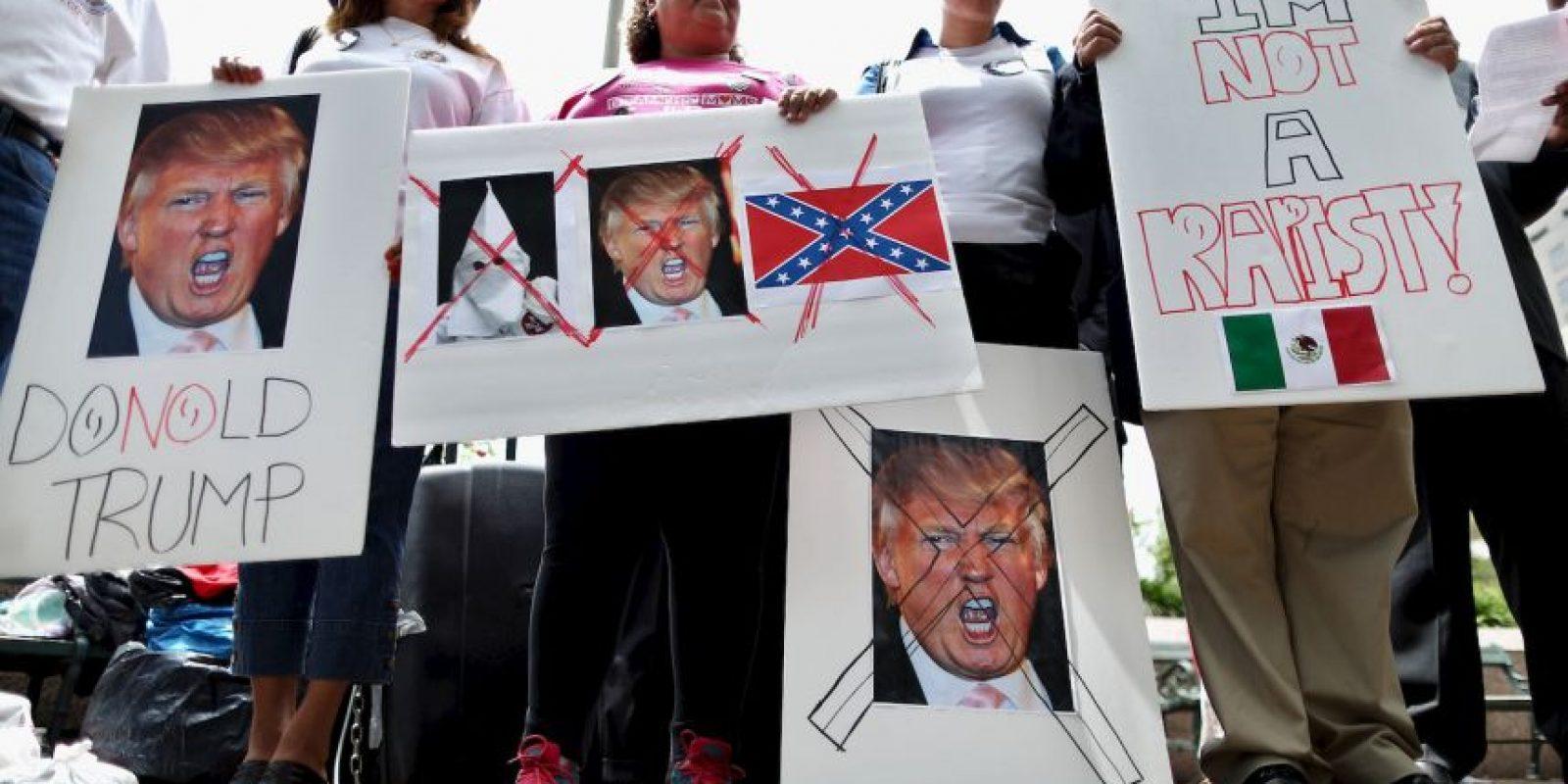 Esto fue lo que expresó este día Martin J. Walsh, alcalde de Boston, quien rechazó la presencia del republicano. Foto:Getty Images