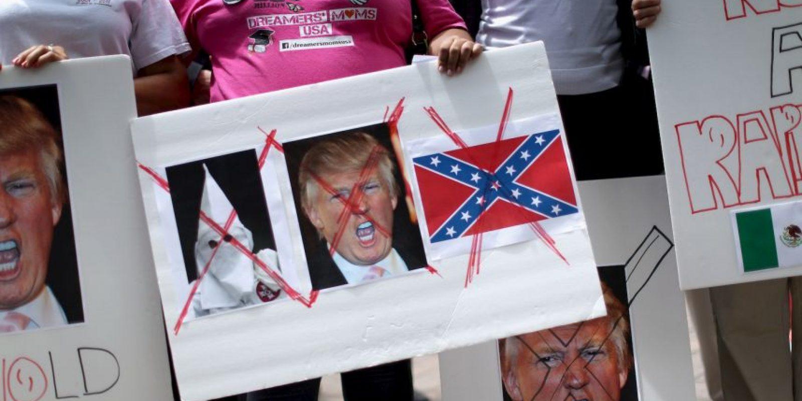 """3. """"Trump no es bienvenido hasta que se disculpe"""" Foto:Getty Images"""
