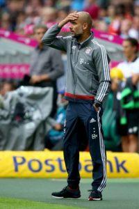 Pep solo ganó la Bundesliga con el Bayern Múnich Foto:Getty Images