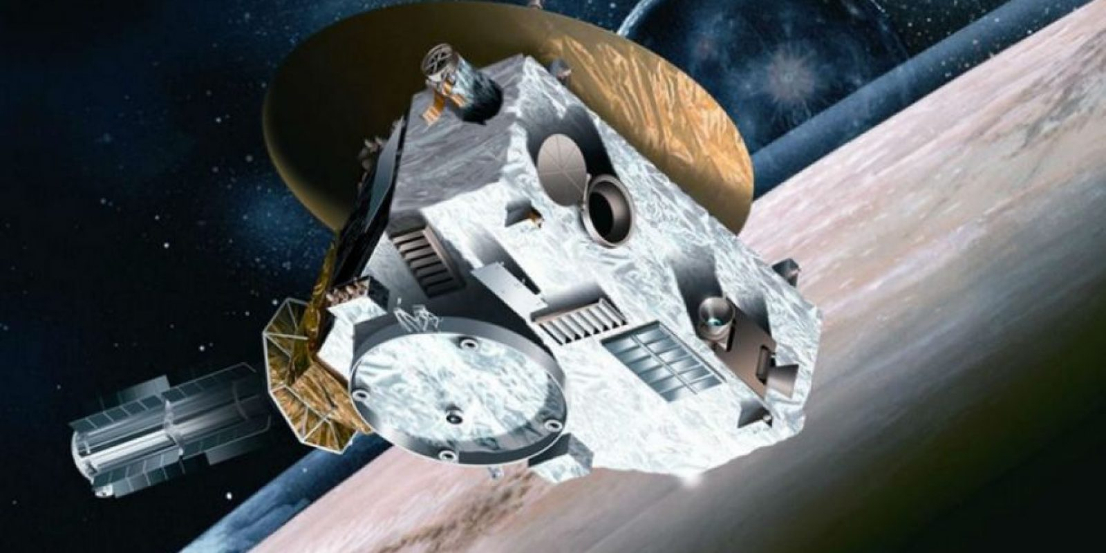 """""""New Horizons"""", la sonda que sobrevoló Plutón. Foto:NASA"""