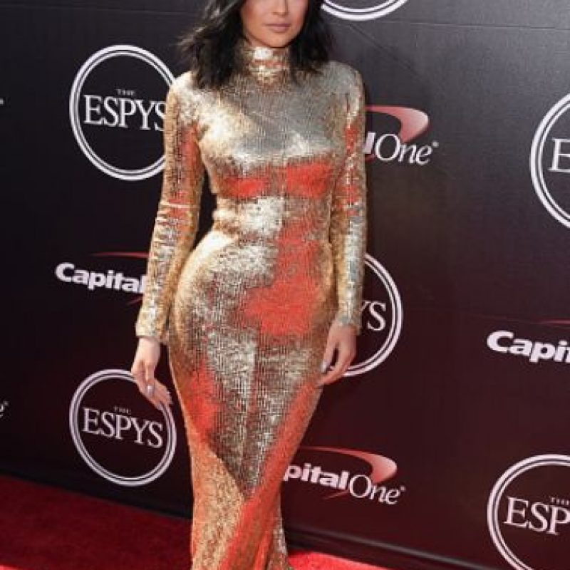 Ultimamente, a Kylie la comparan mucho con su hermana mayor. Foto:vía Getty Images