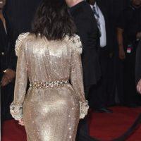 Aquí, su hermana de espaldas. Foto:vía Getty Images