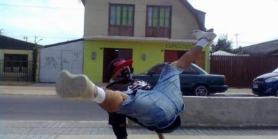 Este es Break Dance Foto:Imgur