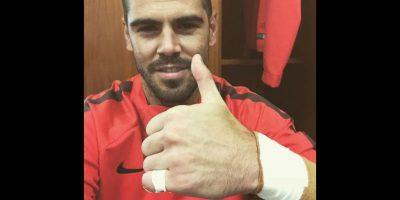 Pero comenzó a entrenar con Manchester United en octubre de ese mismo año. Foto:Getty Images