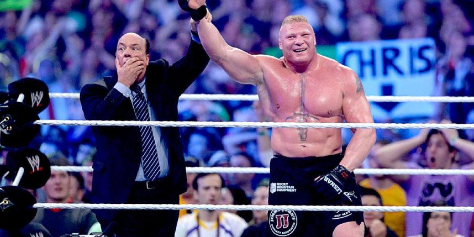 En Wrestlemania 30 perdió el invicto Foto:WWE