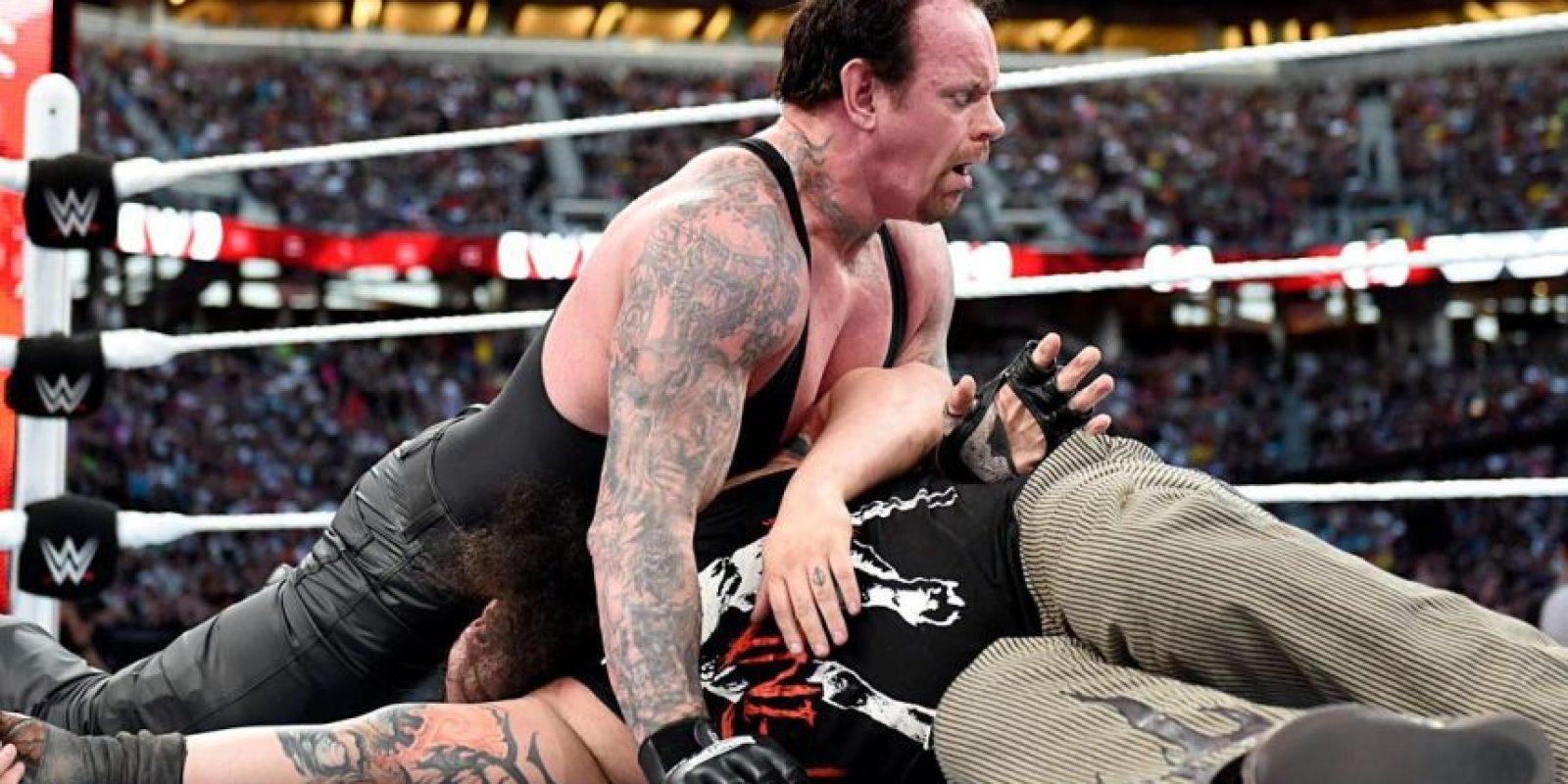 La pelea fue el pasado 29 de marzo Foto:WWE