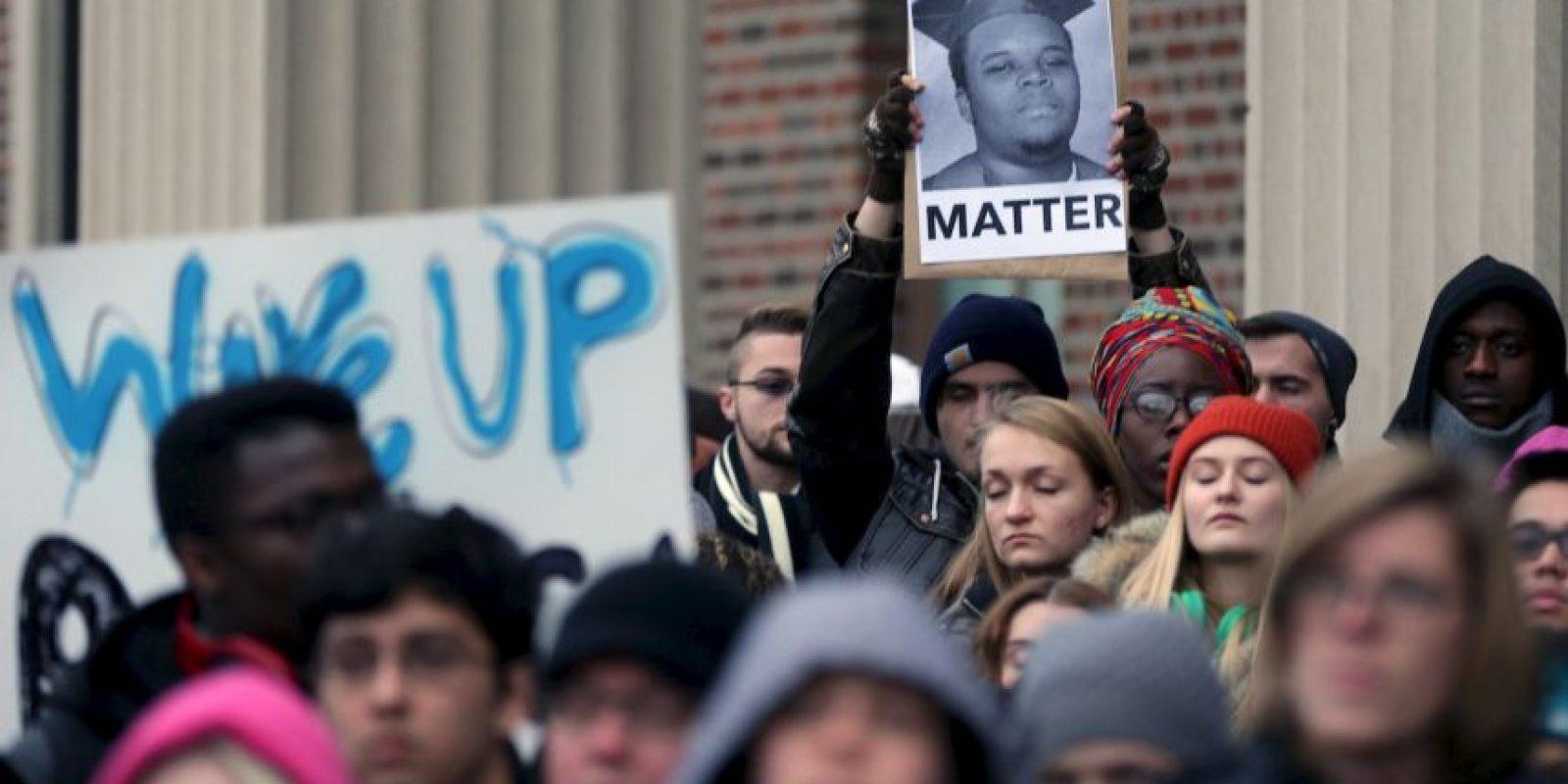 2. El caso de Michael Brown en Ferguson fue uno de los que más ha conmocionado a Estados Unidos recientemente. Foto:Getty Images