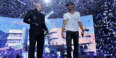 "La gira musical ""Sex and Love Tour"" de Enrique Iglesias Ft. Pitbull y J. Balvin ganaron el premio de ""El Súper Tour"". Foto:Getty Images"