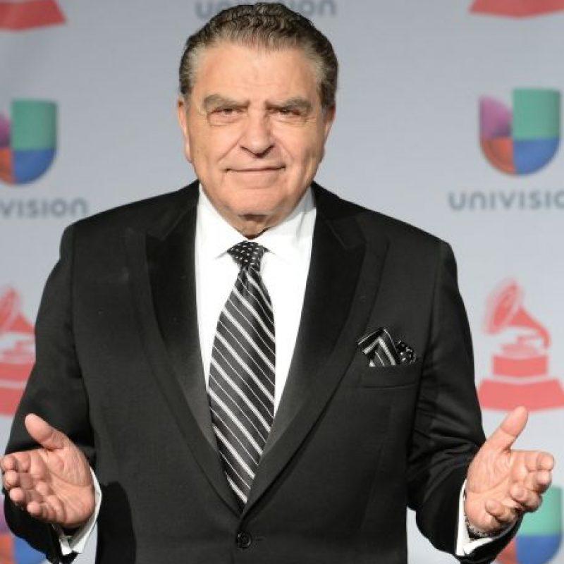 """El premio """"Generación"""" fue para el presentador chileno Mario Kreutzberger, mejor conocido como """"Don Francisco"""". Foto:Getty Images"""