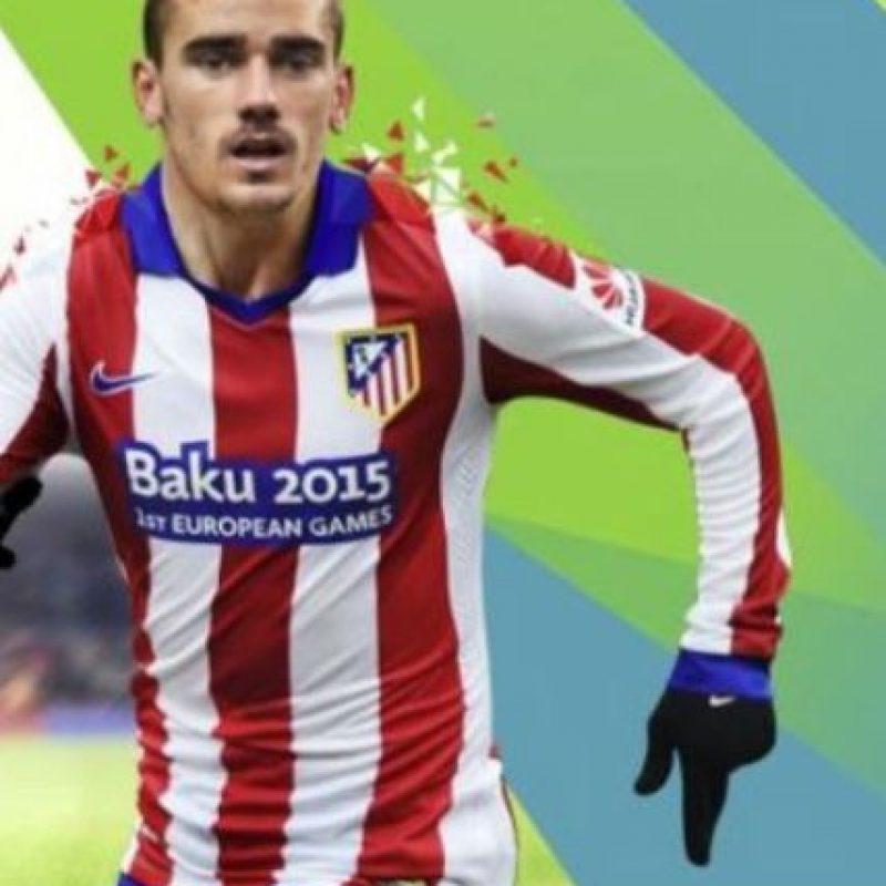 Griezmann es el goleador del club español Atlético de Madrid. Foto:twitter.com/Atleticoaldia