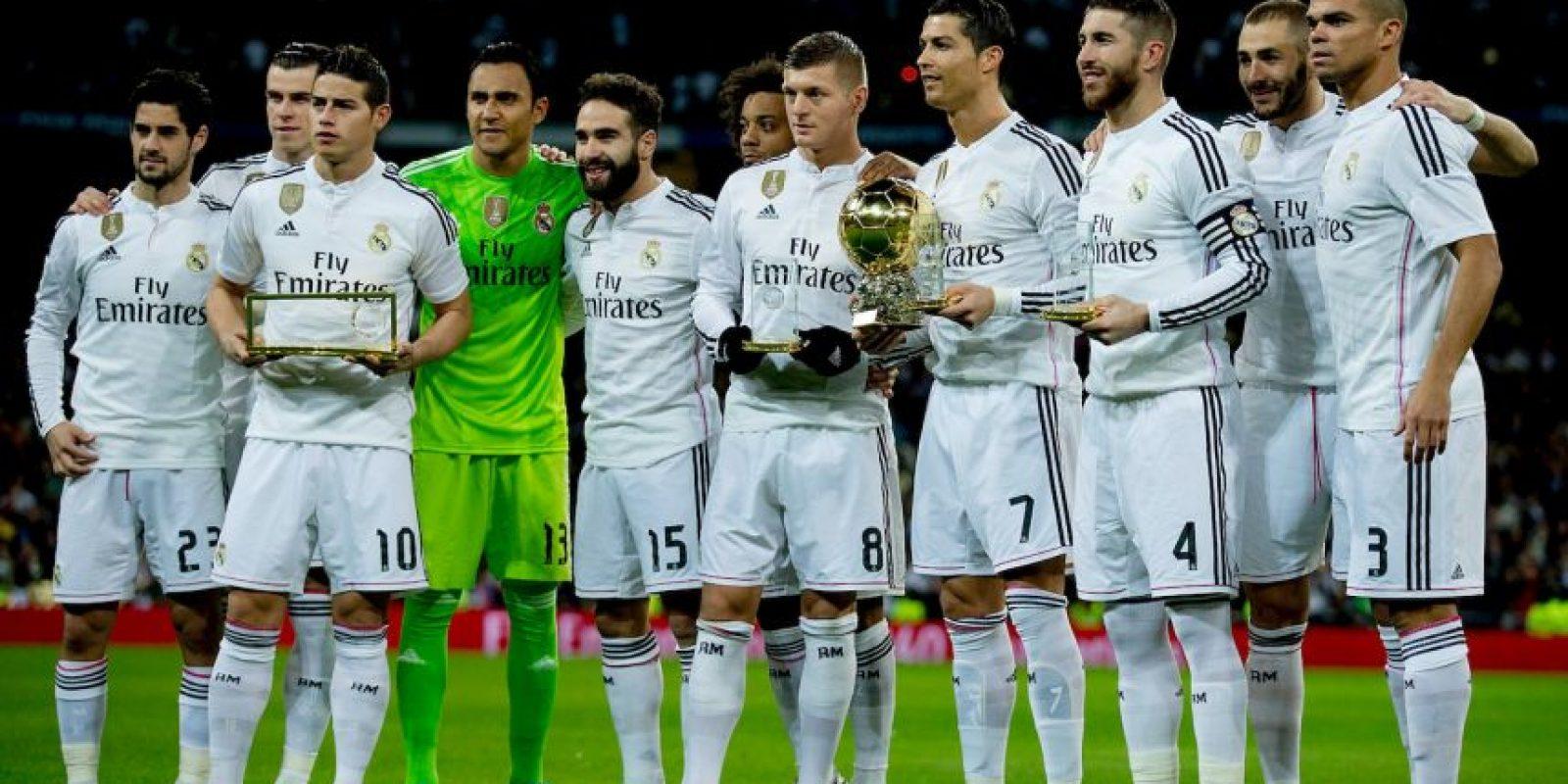 2. Real Madrid (La Liga) Foto:Getty Images