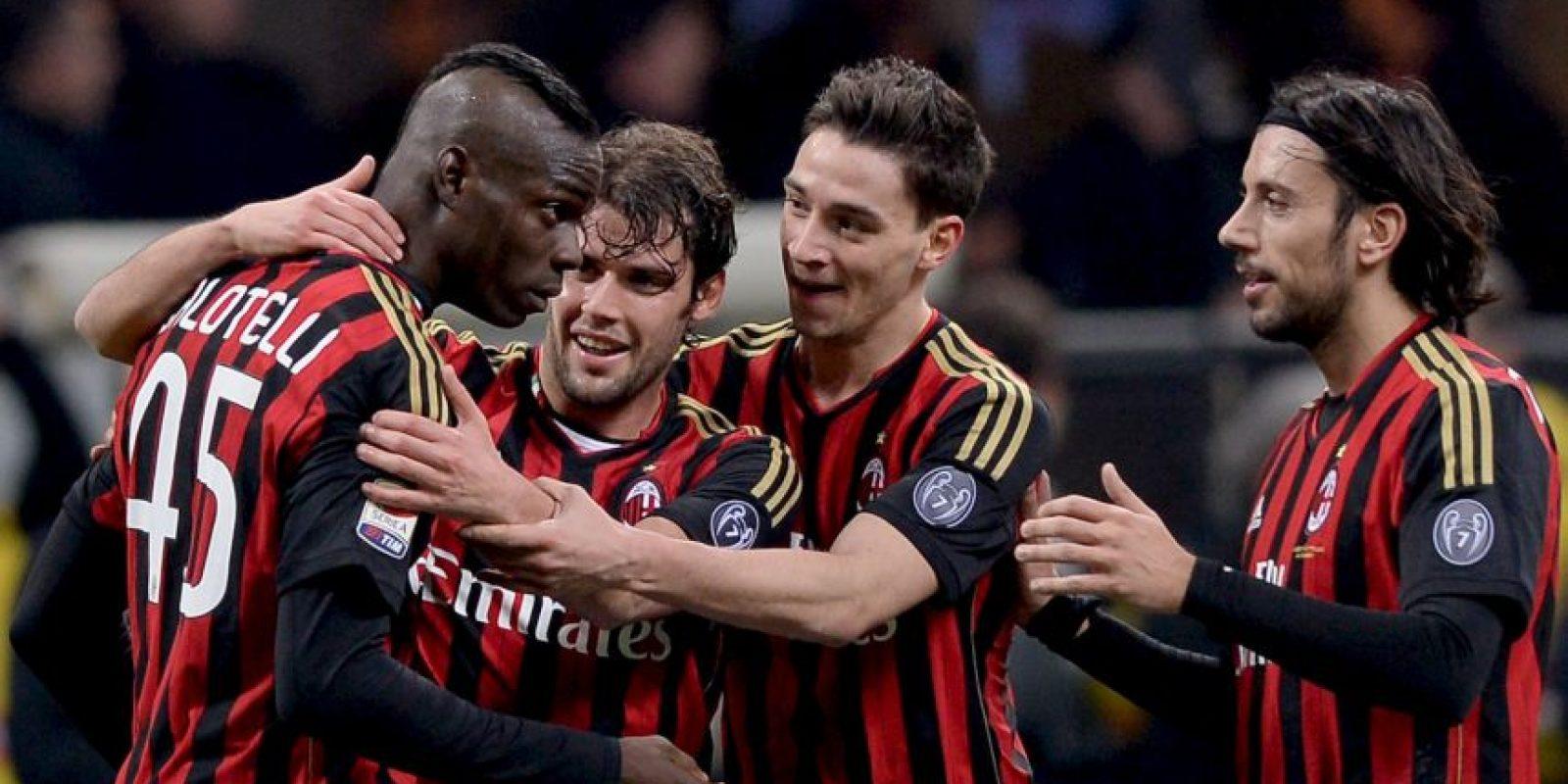 8. AC Milán (Serie A) Foto:Getty Images