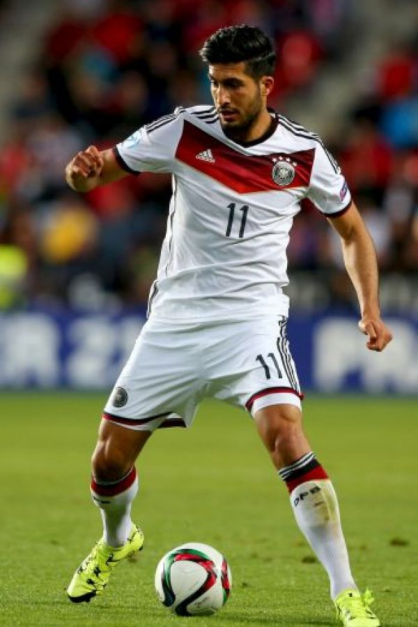 12. Emre Can (Alemania) Foto: Getty Images