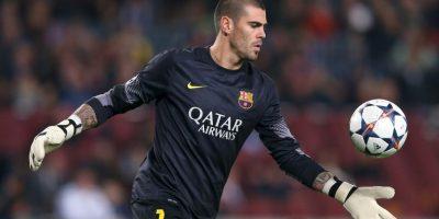 Valdés se formó en las categorías inferiores del Barcelona y de 2004 a 2014 fue el portero titular del club catalán. Foto:Getty Images