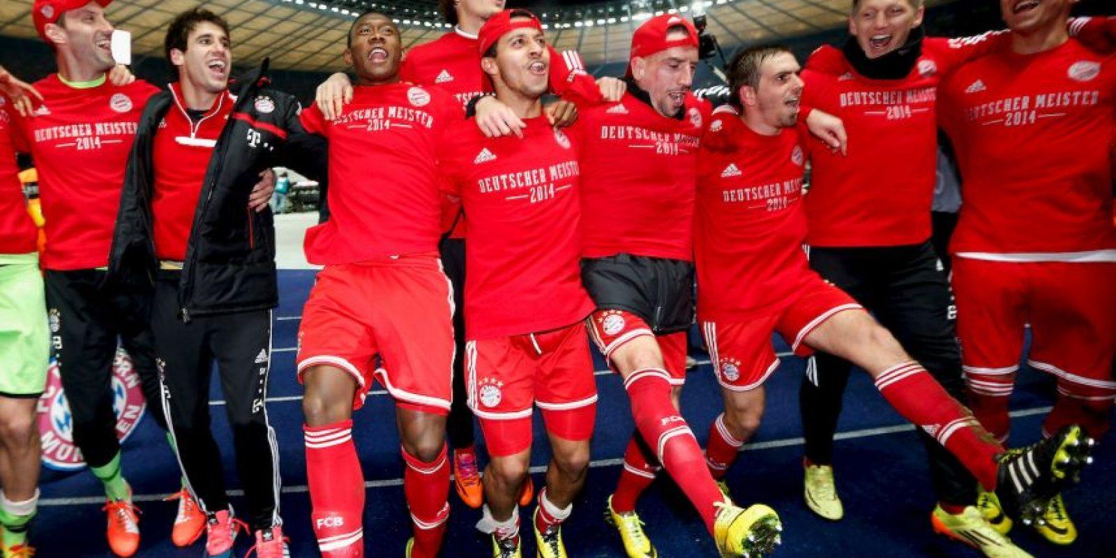 6. Bayern Munich (Bundesliga) Foto:Getty Images