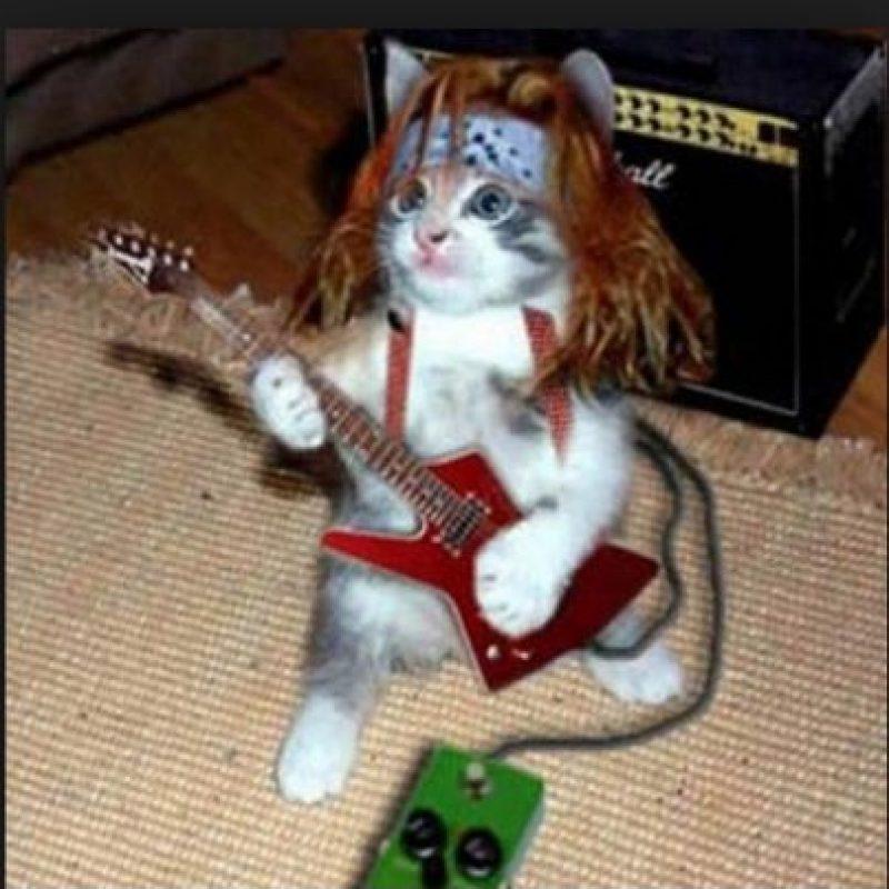 ¿Axl Rose con guitarra? Foto:Pinterest