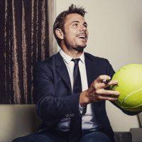 El tenista suizo, campeón de Roland Garrós, también está solo. Foto:Vía instagram.com/stanwawrinka85