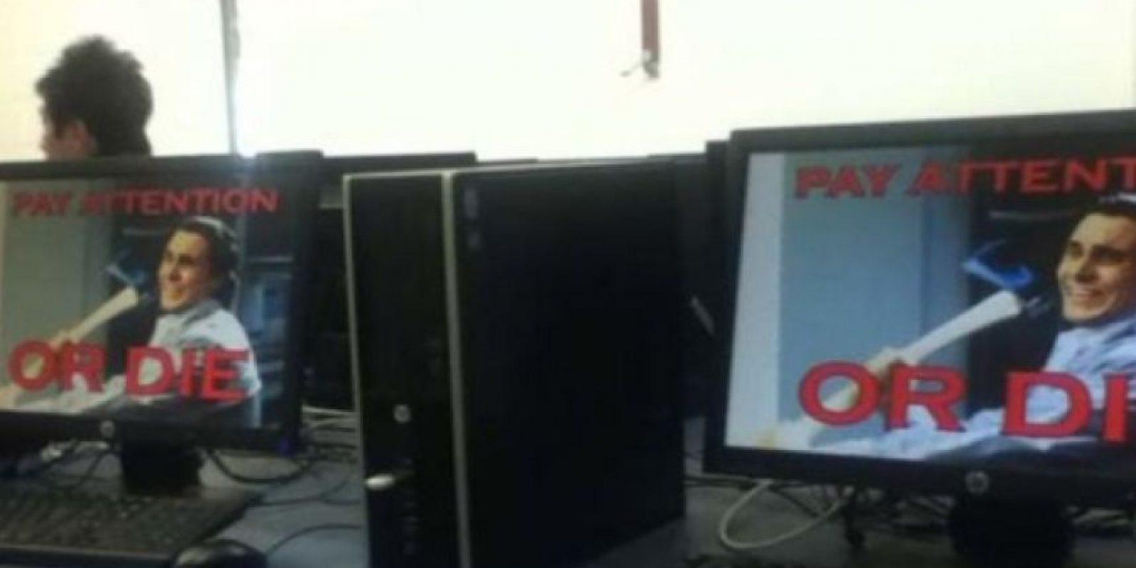 El que pone estos protectores de pantalla. Foto:vía Imgur