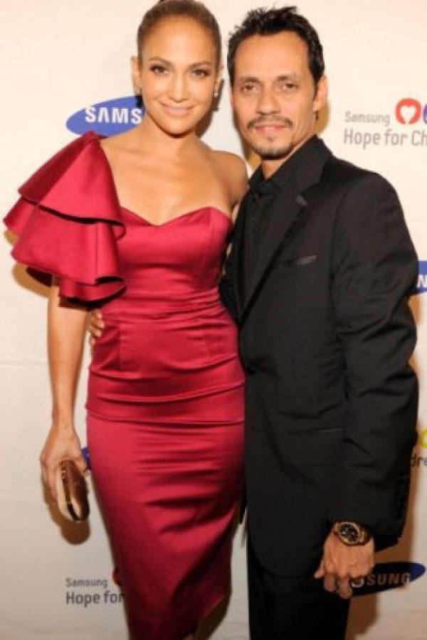1. Jennifer Lopez y Marc Anthony. Foto:Getty Images
