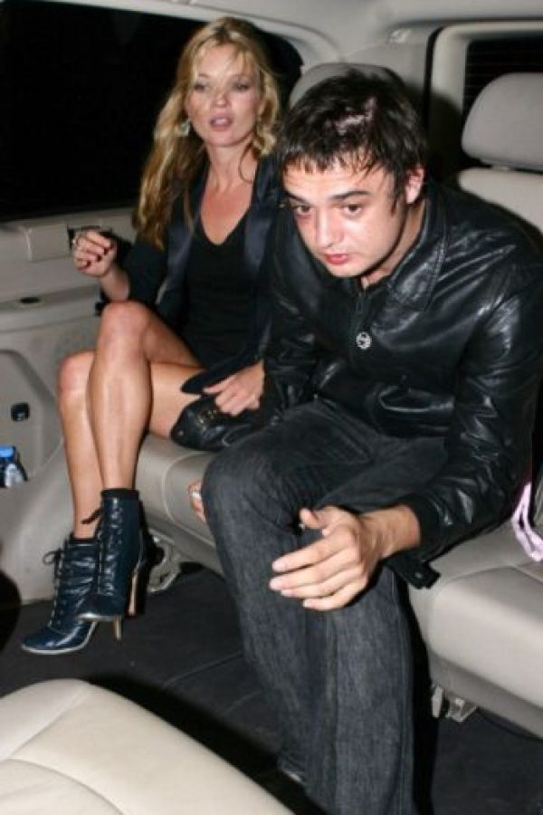 4. Kate Moss y Pete Doherty. Foto:Getty Images